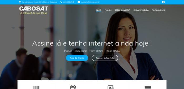 CaboSat – Planos de Internet