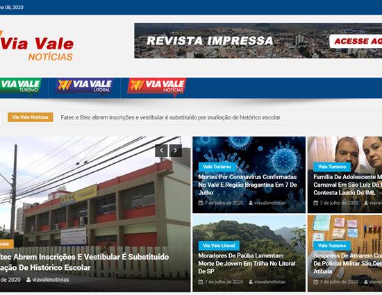 Jornal Via Vale Notícias